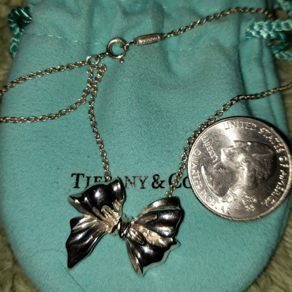 5e35da4b7 Tiffany & Co. Jewelry | Tiffany Large Rare Bow | Poshmark